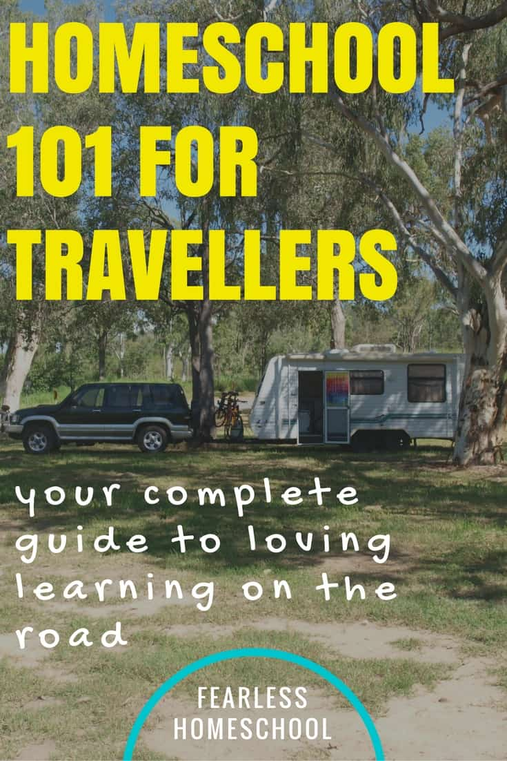 Travelling and Homeschooling in Australia - teach your own on the road
